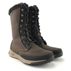 Chaco Womens Borealis Tall Waterproof Boots Sz 10